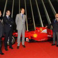 Luca di Montezemolo inaugura las 'Ferrari World Finals 2012'