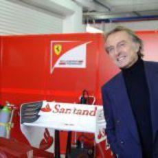 Luca di Montezemolo en las Finales Mundiales de Ferrari 2012