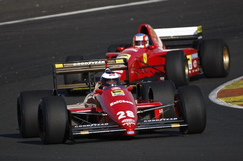 El modelo F1 número 97 de Ferrari en Cheste 2012