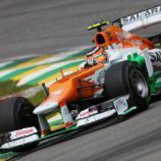 Nico Hülkenberg terminó séptimo la clasificación del GP de Brasil