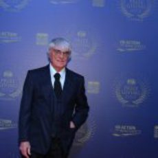 Bernie Ecclestone en la Gala de la FIA 2012