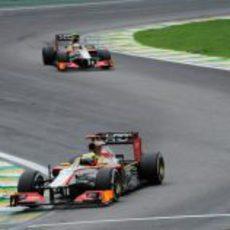 Las últimas vueltas de HRT en la Fórmula 1