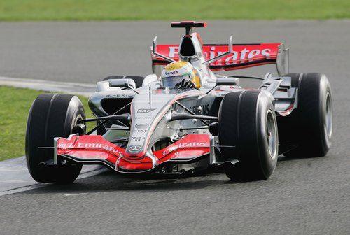 Primera prueba en Silverstone en 2006
