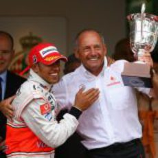 Triunfo en el Gran Premio de Mónaco 2008