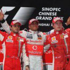 Gran triunfo en el Gran Premio de China 2008