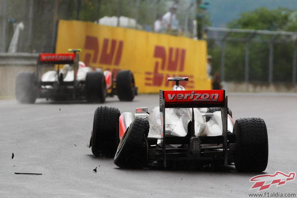Desastre en el Gran Premio de Canadá 2011