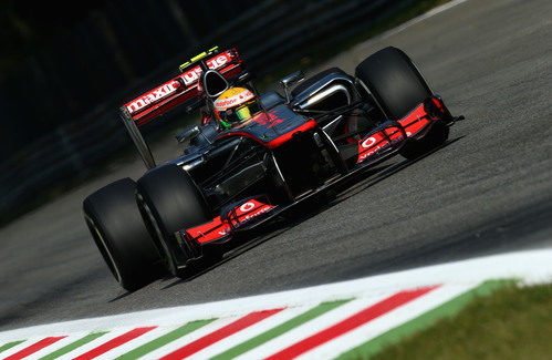 Un triunfo inútil en el Gran Premio de Italia de 2012