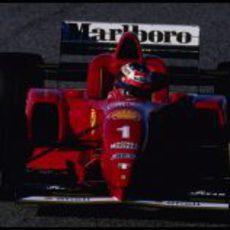 Probando con Ferrari en Estoril