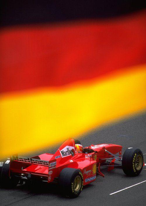 Racha de victorias con Ferrari en 1997