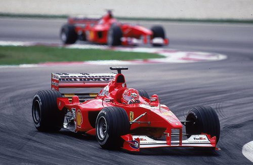¡Campeón del mundo con Ferrari!