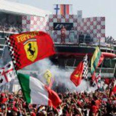 Gran victoria en el Gran Premio de Italia de 2006