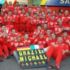Despedida de Michael Schumacher en Brasil
