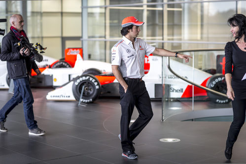Un paseo por el McLaren Technology Center