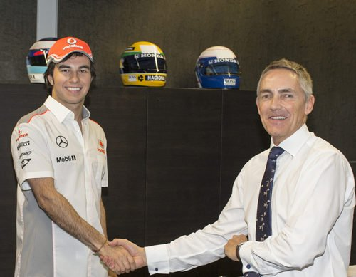 Sergio Pérez ficha por McLaren para 2013