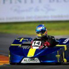 Fernando Alonso afronta su primer 'Desafío das Estrelas'