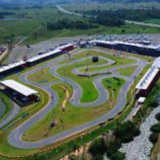 Circuito de karts del 'Desafio das Estrelas' 2013