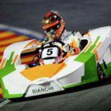Jules Bianchi, referencia en el 'Desafio das Estrelas'