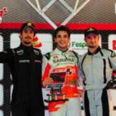 Jules Bianchi, ganador de la primera manga del 'Desafio das Estrelas 2013'