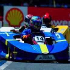Fernando Alonso, de nuevo con problemas