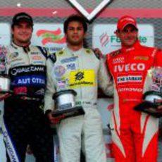 Podio brasileño en la segunda carrera del Desafio de 2013