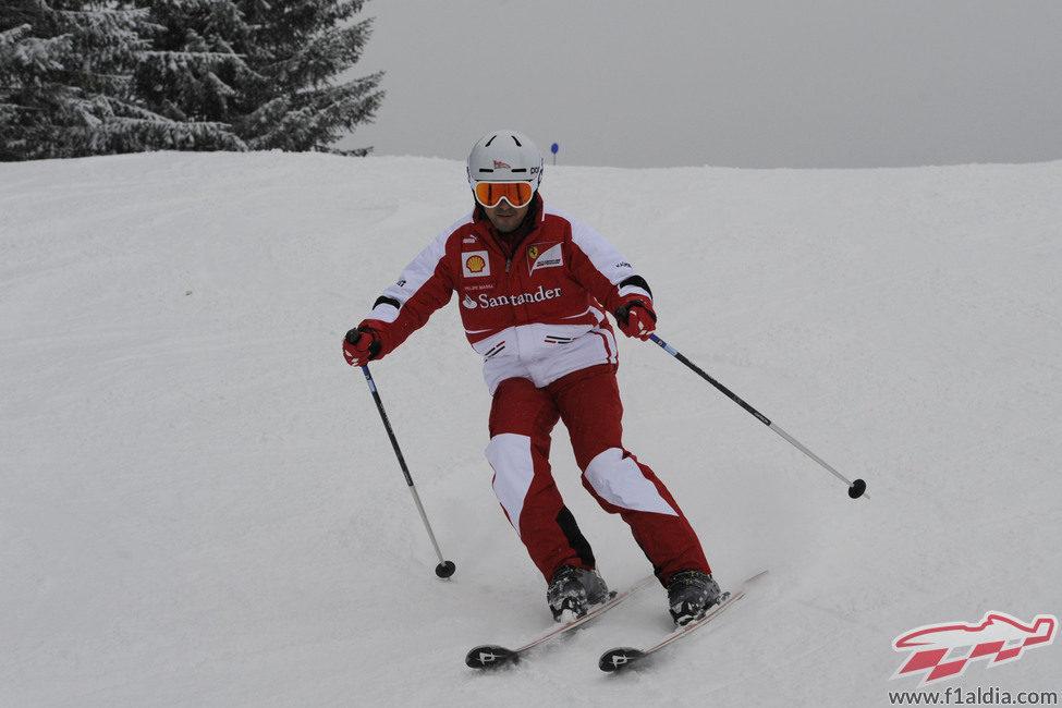 El segundo piloto de Ferrari en la 'Wrooom 2013'