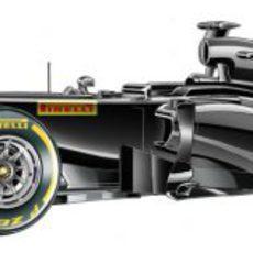 El nuevo monoplaza de Pirelli para 2013