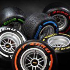 Neumáticos Pirelli de 2013