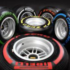Pirelli presenta sus neumáticos para 2013