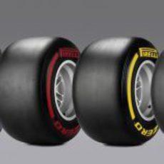 Gama de compuestos Pirelli para la F1 de 2013