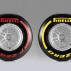 Los 6 compuestos Pirelli para 2013
