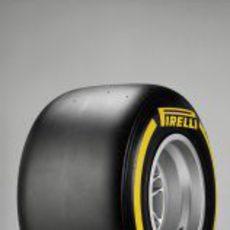 Neumático Pirelli blando para 2013