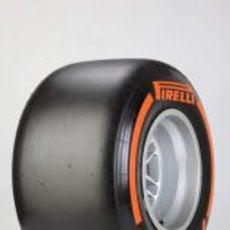 Neumático Pirelli duro para 2013