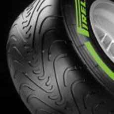 Perfil del neumático Pirelli intermedio para 2013