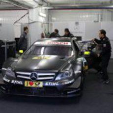 El DTM de Mercedes-Benz en el circuito de Cheste
