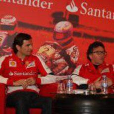 Pedro de la Rosa, cómodo en su nuevo rol como piloto de Ferrari
