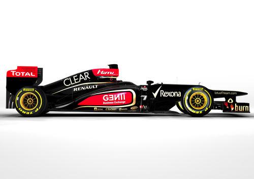 Lotus E21, el monoplaza del equipo de Enstone para 2013