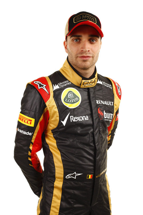 Jérôme D'Ambrosio, piloto reserva de Lotus para 2013