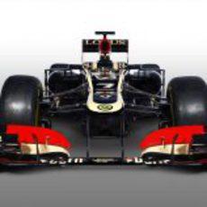 Morro y parte frontal del E21, el arma de Lotus para 2013