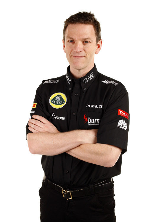 James Allison, director técnico del equipo Lotus en 2013