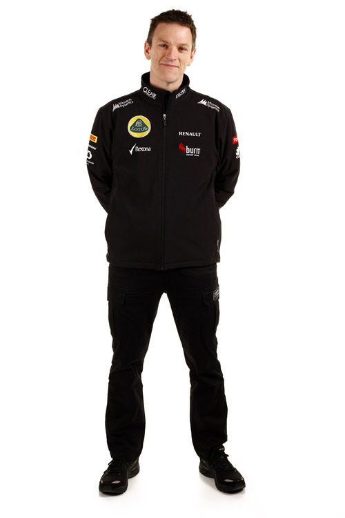 James Allison, director técnico de Lotus en 2013