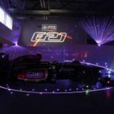 Luces, cámara y acción. El Lotus E21, a escena