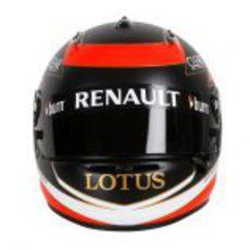 Casco de Kimi Räikkönen para 2013 (frontal)