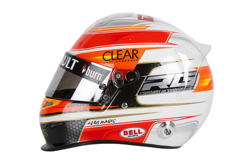 Casco de Romain Grosjean para 2013