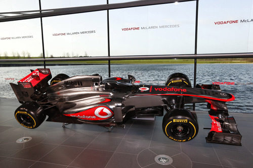 McLaren MP4-28, el monoplaza del equipo de Woking para 2013