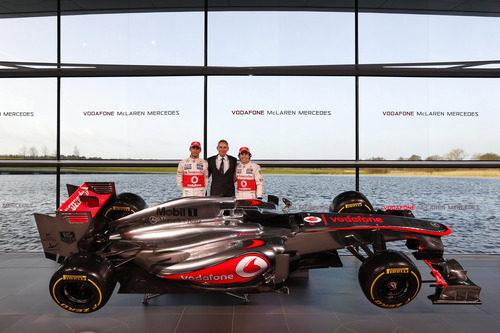 MP4-28, el nuevo McLaren para la temporada 2013