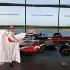 Así es el McLaren MP4-28, la nueva arma de Woking para 2013