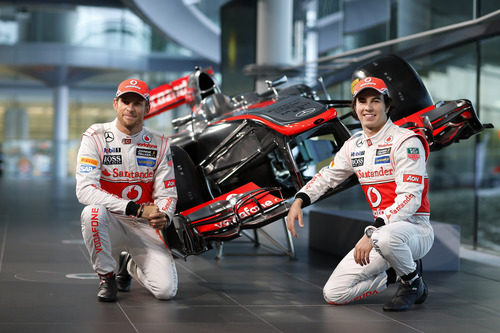 McLaren MP4-28, el coche de Jenson Button y Sergio Pérez para 2013