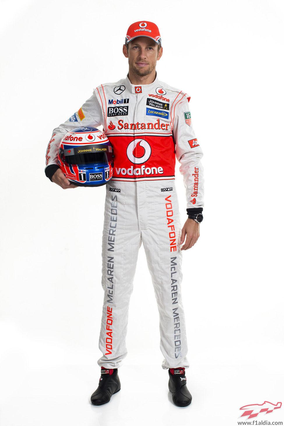 Jenson Button, piloto de McLaren para la temporada 2013