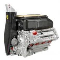 Motor V8 del nuevo Ferrari F138 para la temporada 2013