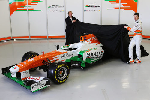 VJM06, la nueva arma de Force India para la temporada 2013
